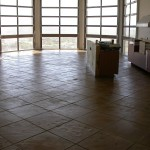 Concrete Overlay Tile Pattern