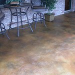 Acid Washed Patio