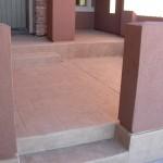 Concrete Overlay Courtyard