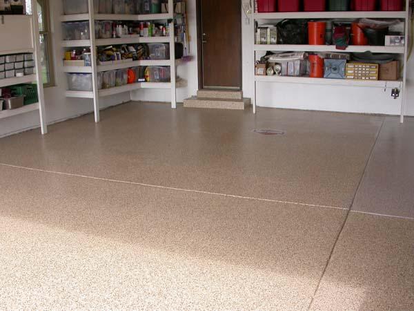 Epoxies For Garage Floor Restoration