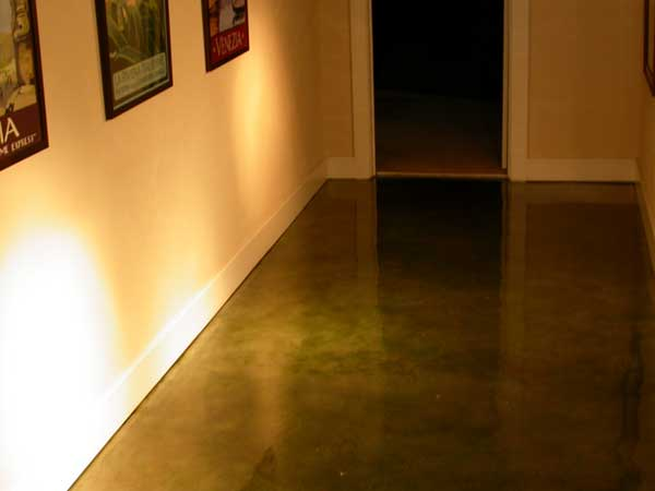 Stamped Concrete Interior Floors : Shades of color denver colorado concrete floor finishing