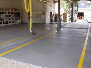 Polyaspartic Systems Garage Floors & Commercial Uses