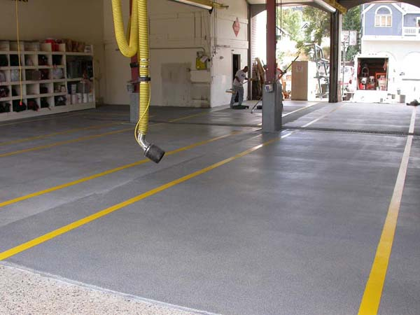 Shades Of Color Get Ideas For Garage Floor Restoration And