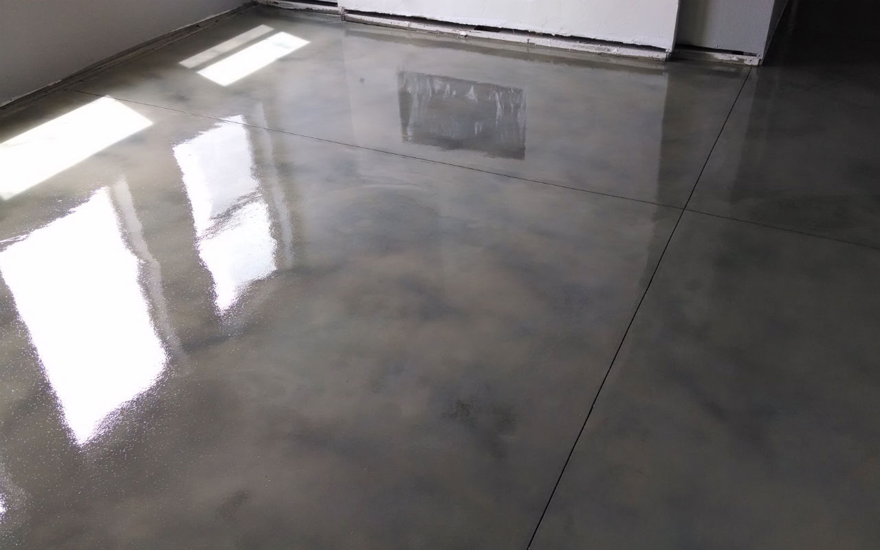 shades of color concrete floor finishes for commercial