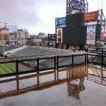 Rockies Stadium Outdoor durable patio flooring