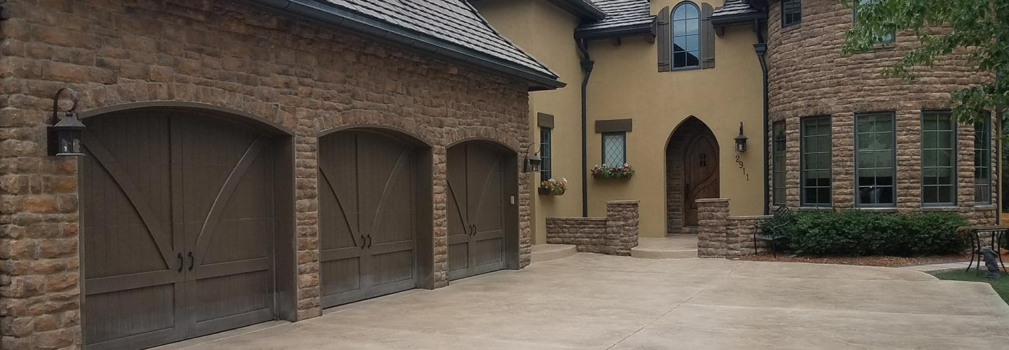 Example of Exterior Concrete Finishes