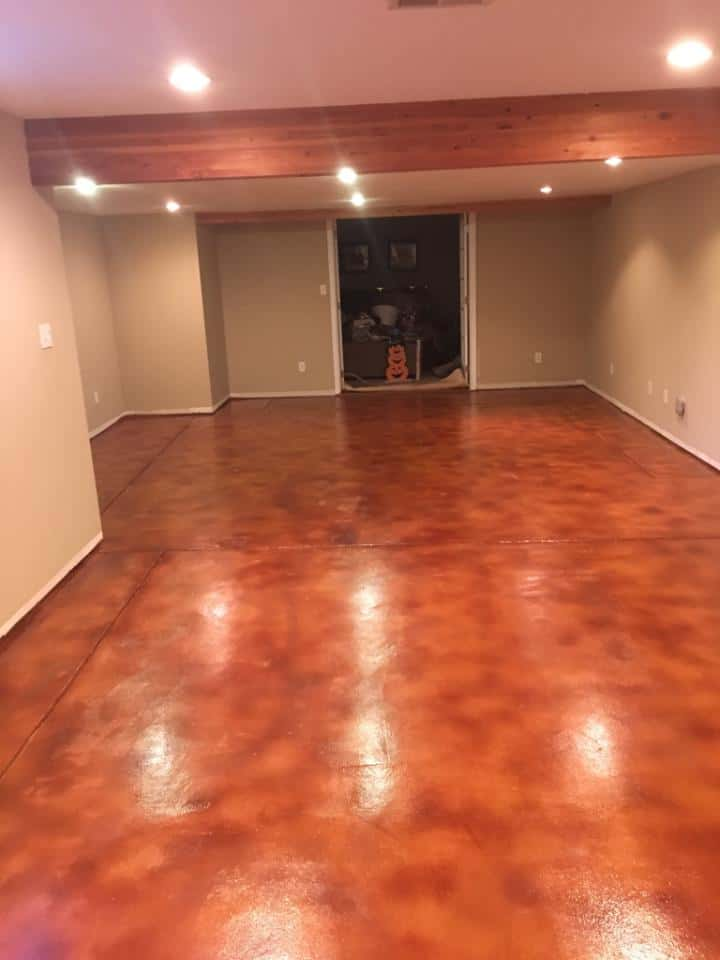 Learn About Stained Concrete Floors
