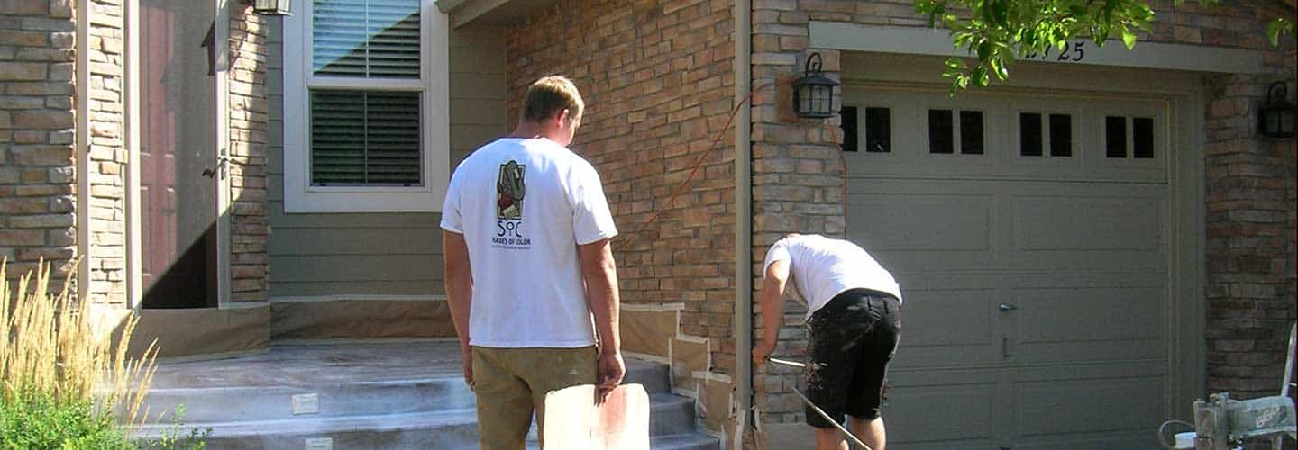 Decorative concrete contractors, the process, General Manager