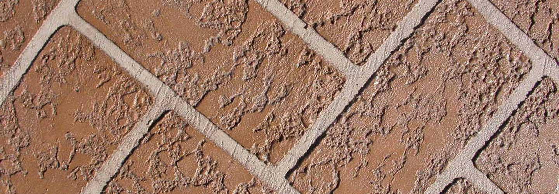 Denver concrete resurfacing, example of an overlay