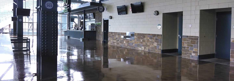 Floors for bars, restaurants