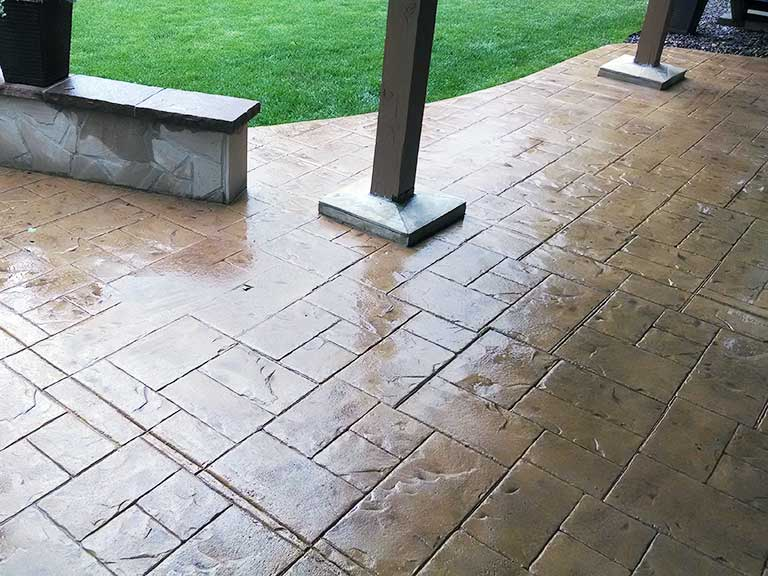 Stamped Concrete Repair and Restoration